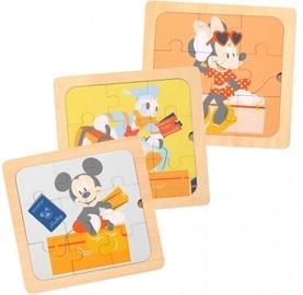 Пазл Disney 3in1 Mini Puzzle, 27 шт.