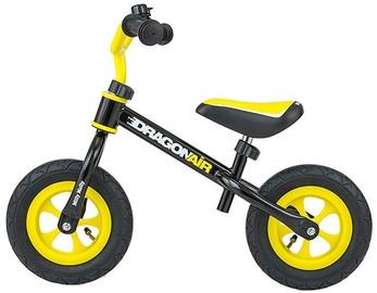 Vaikiškas dviratis Milly Mally Dragon Air Balance Bike Black 2756