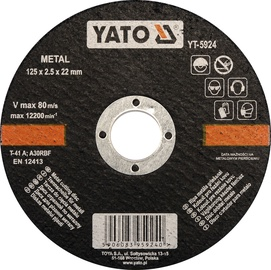 Yato YT-5924 Metal Cutting Disc 125mm