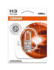 Automobilio lemputė Osram, 55 W, 12 V, H3, PK22S