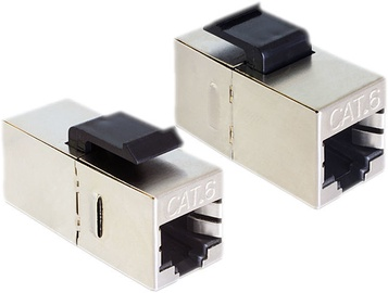 Delock Keystone RJ-45 to RJ-45 Cat.6 Compact