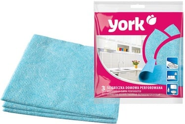 York Household Cloth Perforated 3pcs