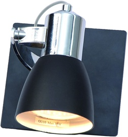 Light Prestige Rawenna Wall Lamp 50W GU10 Black