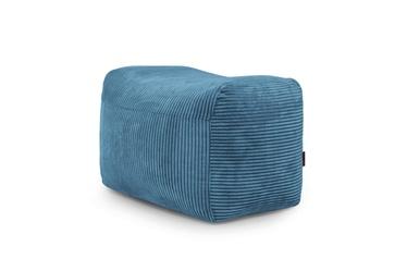 Кресло-мешок Pouf Plus Waves Petrol, синий, 160 л
