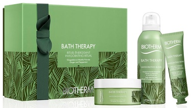 Biotherm Bath Therapy Invigorating Blend Body Cream 200ml + 200ml Cleansing Foam + 30ml Hand Cream