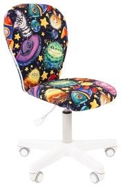 Детский стул Chairman 105 Alien, белый/многоцветный, 380 мм x 880 мм