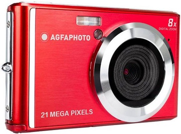 AgfaPhoto DC5200 Digital Camera Red