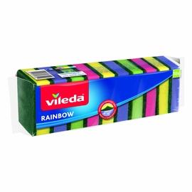 """Puhastuskäsn Vileda """"Rainbow"""", 10 tk"""