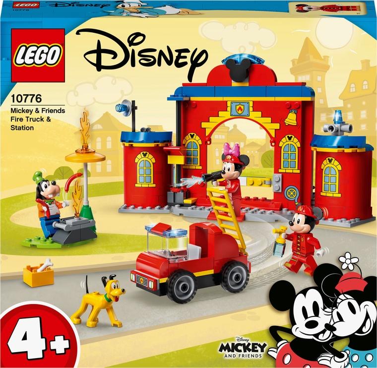 Конструктор LEGO Mickey and FriendsПожарная часть и машина Микки и его друзей 10776, 144 шт.
