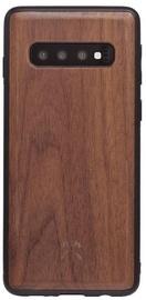 Woodcessories Bumper Back Case For Samsung Galaxy S10 Plus Walnut/Black