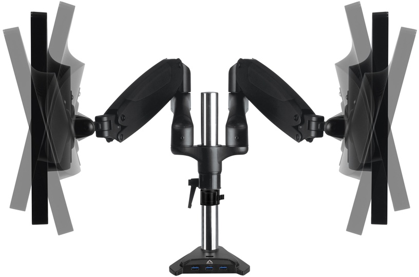 Arctic Z2-3D Gen 3 Desk Mount Dual Monitor Arm