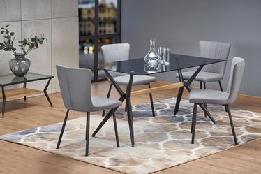 Halmar Table Finley Smoked/Black
