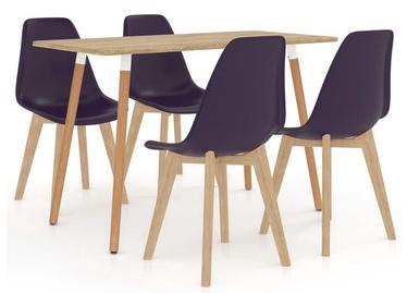 Обеденный комплект VLX Dining Set 3056104, фиолетовый