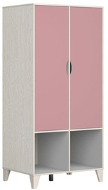 Black Red White Stanford Wardrobe Gray&Pink