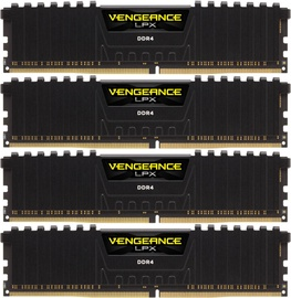 Corsair Vengeance LPX 32GB 2933MHz CL16 DDR4 KIT OF 4 CMK32GX4M4Z2933C16