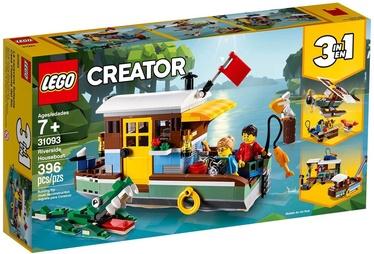 Konstruktorius LEGO Creator Riverside Houseboat 31093