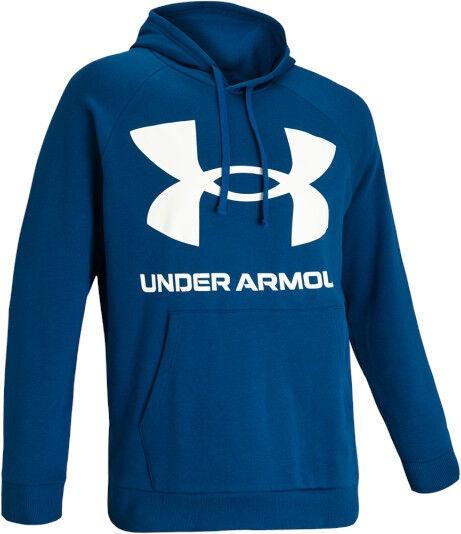 Under Armour Rival Fleece Big Logo Hoodie 1357093-581 Blue L