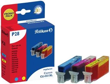 Pelikan Ink Cartridge P28 Multipack