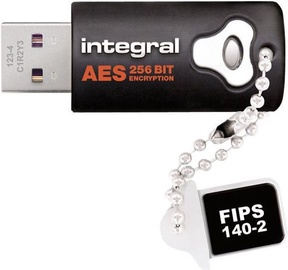 Integral Crypto Dual Fips 140 Black 4GB