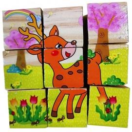 Wooden Block Puzzle 9pcs