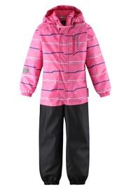 Комбинезон Lassie Superfill Tihvo, черный/розовый, 80 см