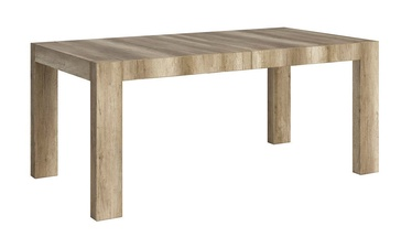 Black Red White STO 180/95 Expendable Table 180/240cm Monument Oak