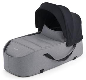 Сумка Bumprider Connect Carrycot Grey, черный/серый