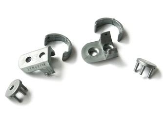 Aliuminio profilio Topmet Slim laikiklių komplektas