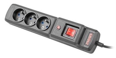 Стабилизатор напряжения (Surge Protector) ARMAC Surge Protector 3 Outlet Black 2.5m