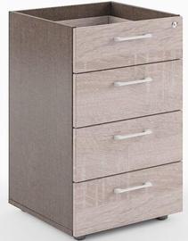Skyland Xten XLC-4D Side File Cabinet Frame 46.1x72.5x44.6cm Sonoma Oak/Reno