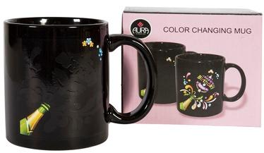 Home4you Mug Colour Change 300ml Black