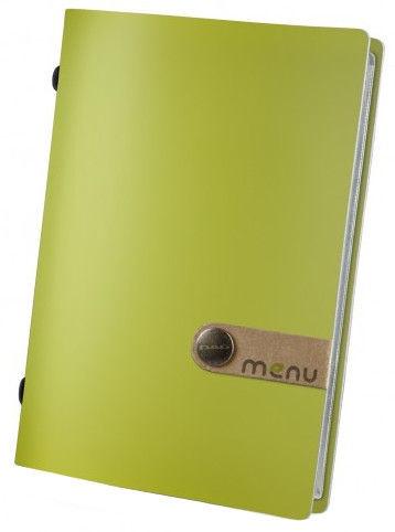 Dag Style Fashion Menu Holder 15 x 21.5cm Green