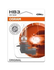 Automobilio lemputė Osram, 60 W, 12 V, HB3, P20D