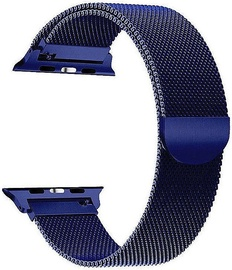 Tech-Protect Stainless Steel Strap For Apple Watch 42/44mm Navy Blue