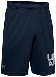 Šorti Under Armour Mens Tech Wordmark Shorts 1351653-408 Navy Blue S