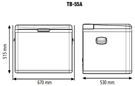 Indel B TB 55A Grey