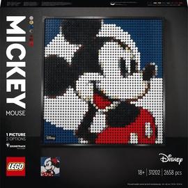 Конструктор LEGO Art Disneys Mickey Mouse 31202, 2658 шт.