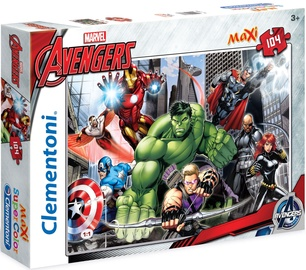Puzle Clementoni Maxi SuperColor The Avengers 23688, 104 gab.