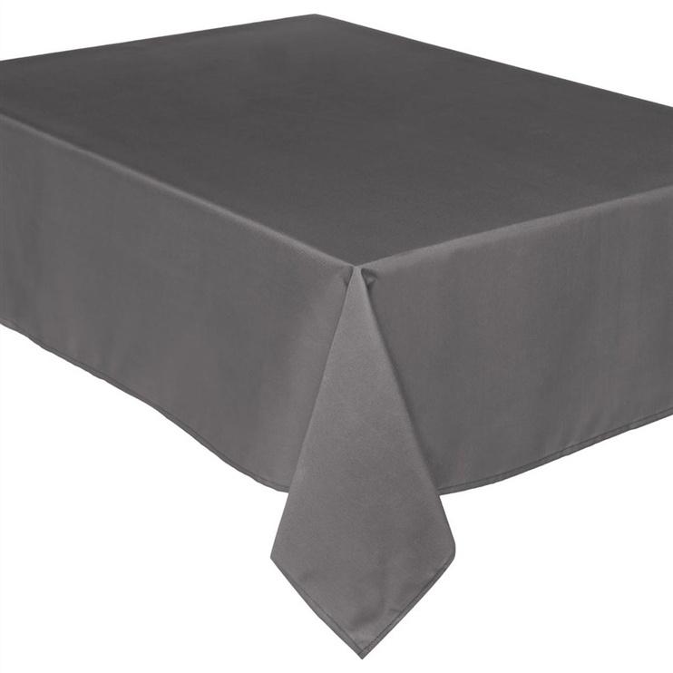 Atspari dėmėms staltiesė, pilka, 140 x 240 cm
