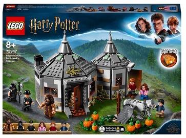 Конструктор LEGO Harry Potter Хижина Хагрида: спасение Клювокрыла 75947, 496 шт.