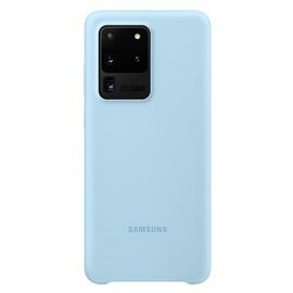 Silikoninis Dėklas Samsung Galaxy S20 Ultra Mėlynas