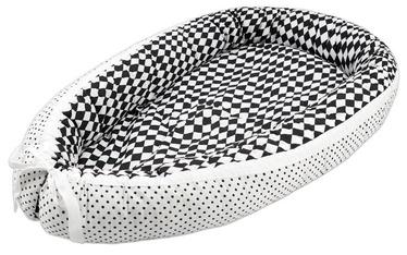 Lulando Multifunctional Baby Nest White With Dots/Black & White Diamonds