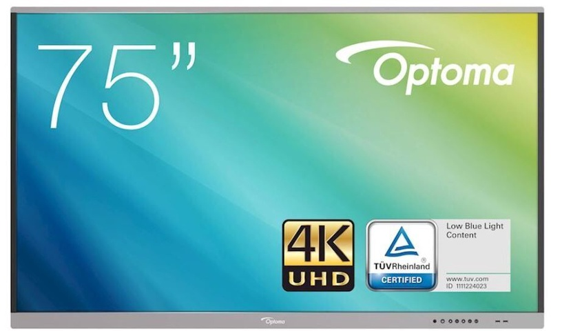 "Monitorius Optoma 5751RK, 75"", 8 ms"