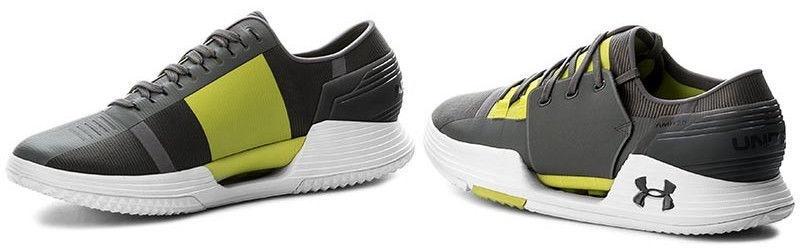 Under Armour Trainers Speedform AMP 2.0 1295773-040 Grey/Yellow 45