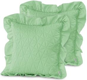 AmeliaHome Tilia Pillowcase Mint 45x45cm 2pcs