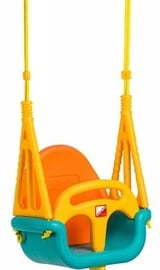 EcoToys Bucket Garden Swing 3 in 1 Orange/Blue