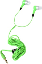 Ausinės Freestyle Universal In-Ear Stereo Earphones Green