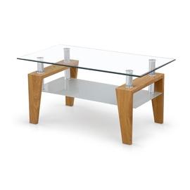 Kafijas galdiņš Halmar Betty Golden Oak, 1000x600x450 mm