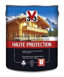 Impregnantas V33 Haute Protection, šviesaus ąžuolo spalvos, 2.5 l