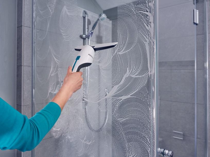 Leifheit  Nemo Window/ Bath Vacuum Cleaner White